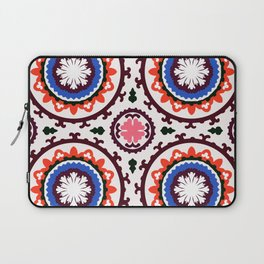 Bold and bright beauty of suzani pattern ver.3 Laptop Sleeve
