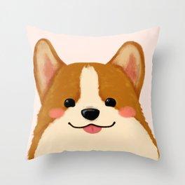 Corgi [blep!] Throw Pillow