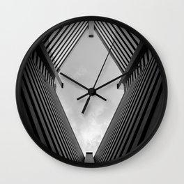 Diamond in the Sky Wall Clock
