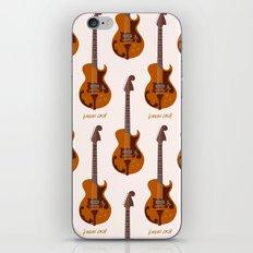 Merle Travis Bigsby Guitar iPhone & iPod Skin