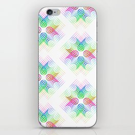 Colorful Rainbow Pattern iPhone Skin