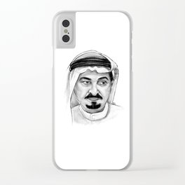Sheikh Humiad Clear iPhone Case