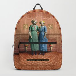 The Sloth Sisters at Home Backpack
