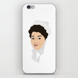Carry on Hattie Jacques iPhone Skin