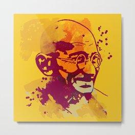 Gandhi Metal Print