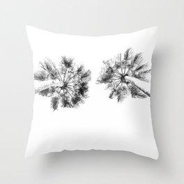 PALMS LIGHT Throw Pillow