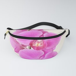 Beautiful Pink Orchid Fanny Pack
