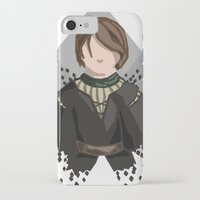 house stark iPhone & iPod Cases featuring Arya Stark by itsamoose