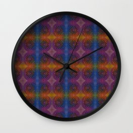 Tryptile 47c (Repeating 2) Wall Clock