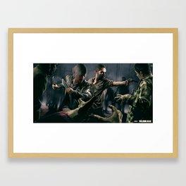 TWD Framed Art Print