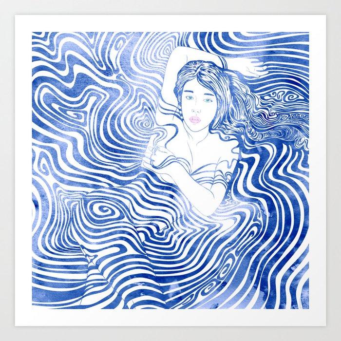 Water Nymph XLIV Art Print