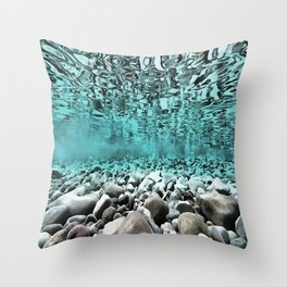Time To Reflect, Dive Deeper Throw Pillow