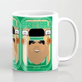 Basketball Green - Court Dunkdribbler - Seba version Coffee Mug