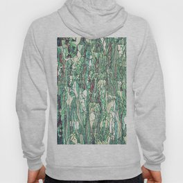 Abstract green Hoody