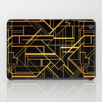 gatsby iPad Cases featuring Great Gatsby Style Pattern by Varvara Gorbash