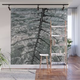 Veins on waves Wall Mural