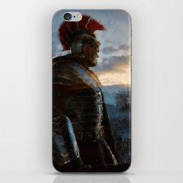 Portrait of a Roman Legionary iPhone Skin