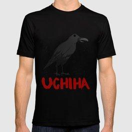 Black Raven and Crow Rose Uchiha Designs Eye Cycle Image Kids Art Picture T-shirt