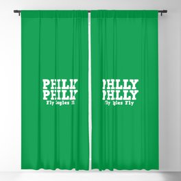 Philly Philly Fly Eagles Fly Blackout Curtain