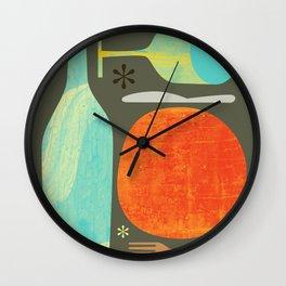 Wine & Dine Kitchen Art Wall Clock