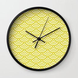 Circles_yellow Wall Clock