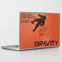 gravity Laptop & iPad Skins featuring GRAVITY by Resistance