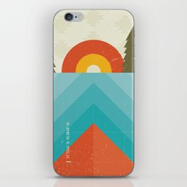 Niangua River iPhone Skin
