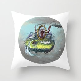 Chernobyl - Stalker Throw Pillow