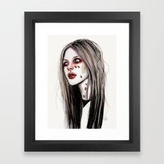 Avril - Under my skin Framed Art Print