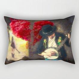 Public Heartbreak Rectangular Pillow