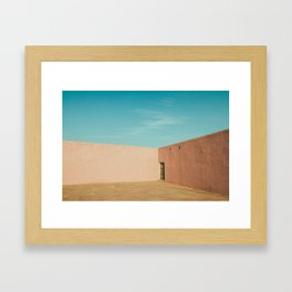 Welcome to Rajasthan Framed Art Print