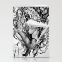 ursula Stationery Cards featuring Ursula by Chloe Pachovas
