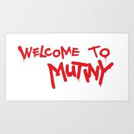 Welcome to Mutiny - Halt & Catch Fire Art Print
