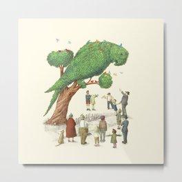 The Parrot Tree Metal Print