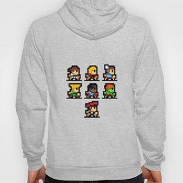 Minimalistic - Street Fighter - Pixel Art Hoody