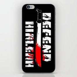 DEFEND HIALEAH iPhone Skin