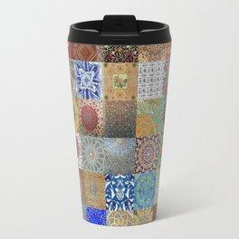 Persian Art Montage Travel Mug
