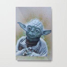 Master Yoda  Metal Print