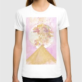 Full Moon over Pyramid T-shirt