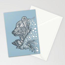 Winter sleep Stationery Cards