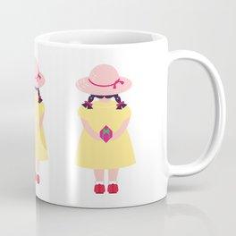 Girl with Present Coffee Mug