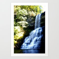 Cascades of Southwest Virginia Art Print
