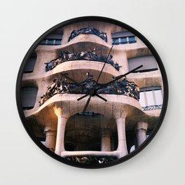Casa Milá - La Pedrera BCN Wall Clock