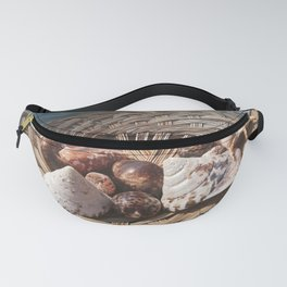 seashells in the basket Fanny Pack