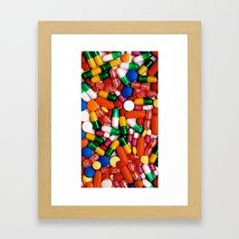 PILLS,PILLS,PILLS Framed Art Print