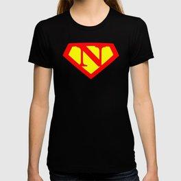 Letter N Power Sign T-shirt