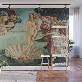 Sandro Botticelli - The birth of Venus (La nascita di Venere) Wall Mural