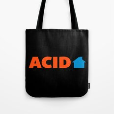 Acid House Music Quote Tote Bag