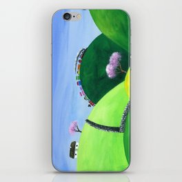 Hilly High Hills iPhone Skin