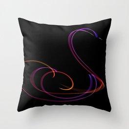 Swan #1 Throw Pillow